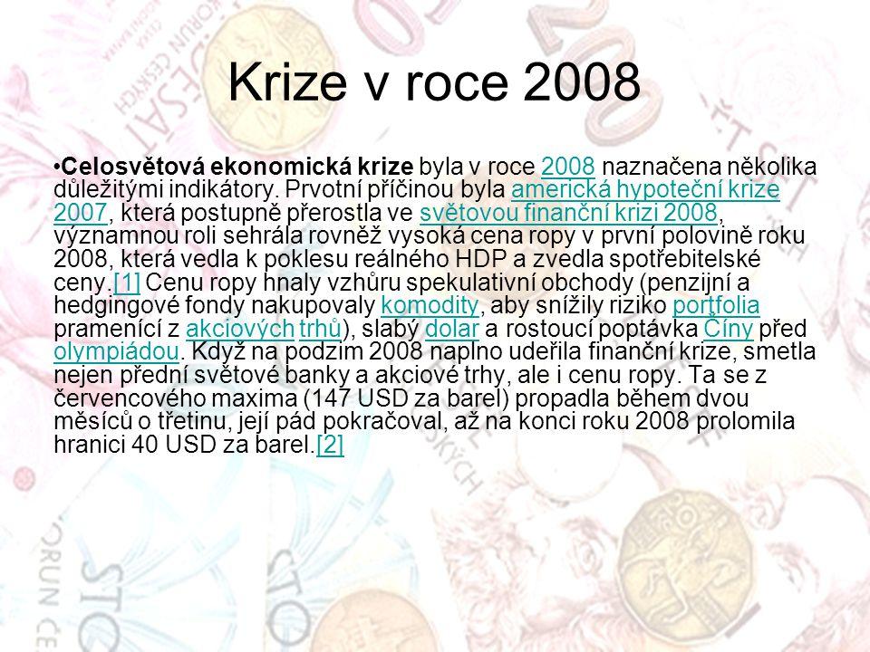 Krize v roce 2008