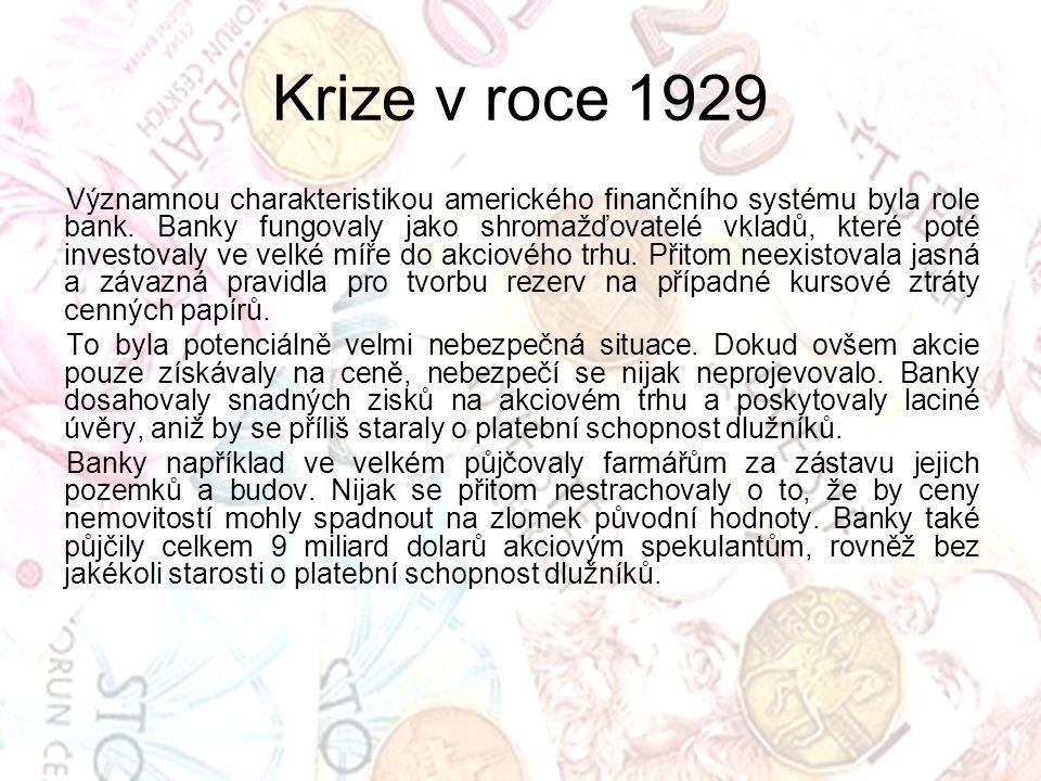 Krize v roce 1929