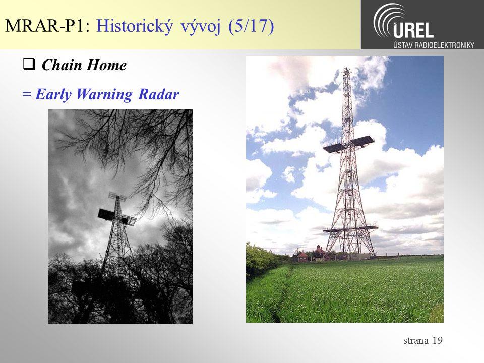 MRAR-P1: Historický vývoj (5/17)