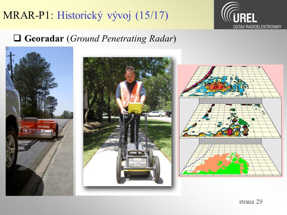 MRAR-P1: Historický vývoj (15/17)