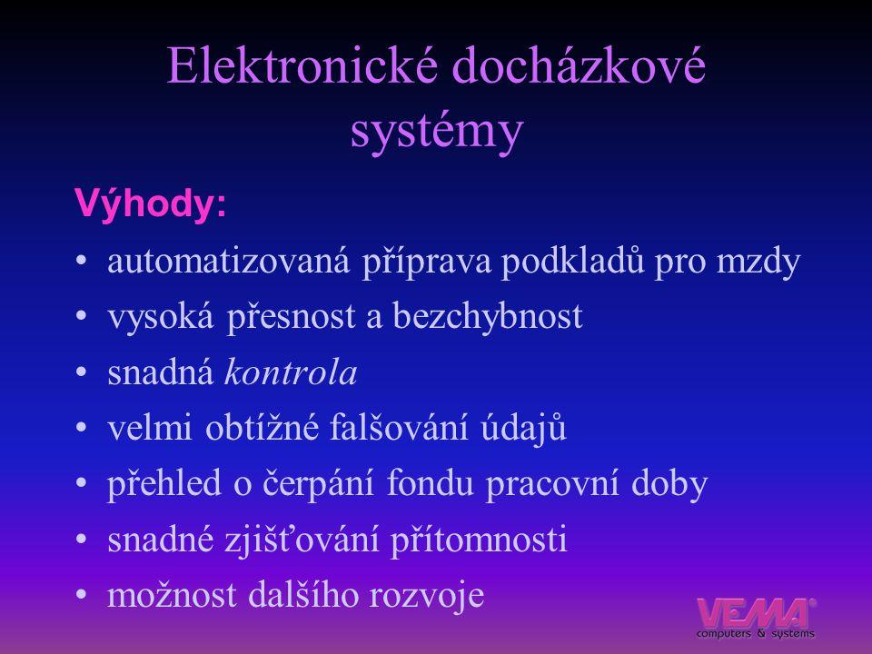 Elektronické docházkové systémy
