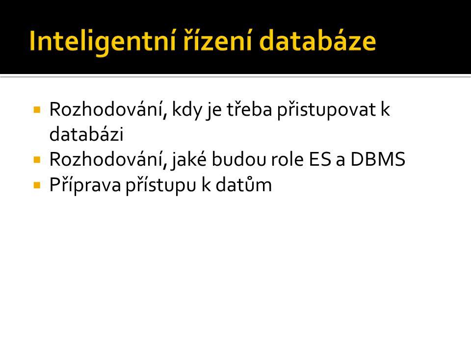 Inteligentní řízení databáze