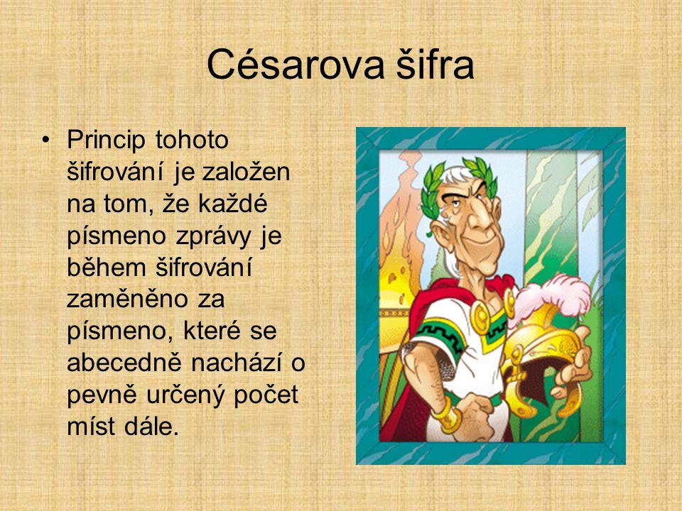 Césarova šifra