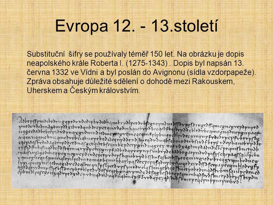 Evropa 12. - 13.století