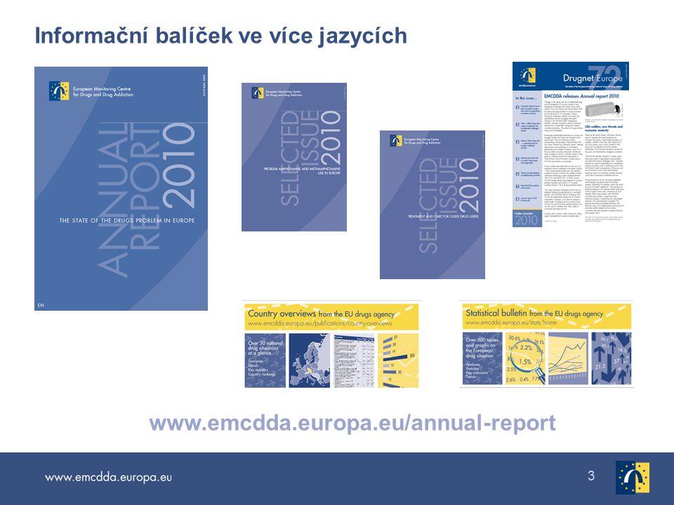 Informační balíček ve více jazycích