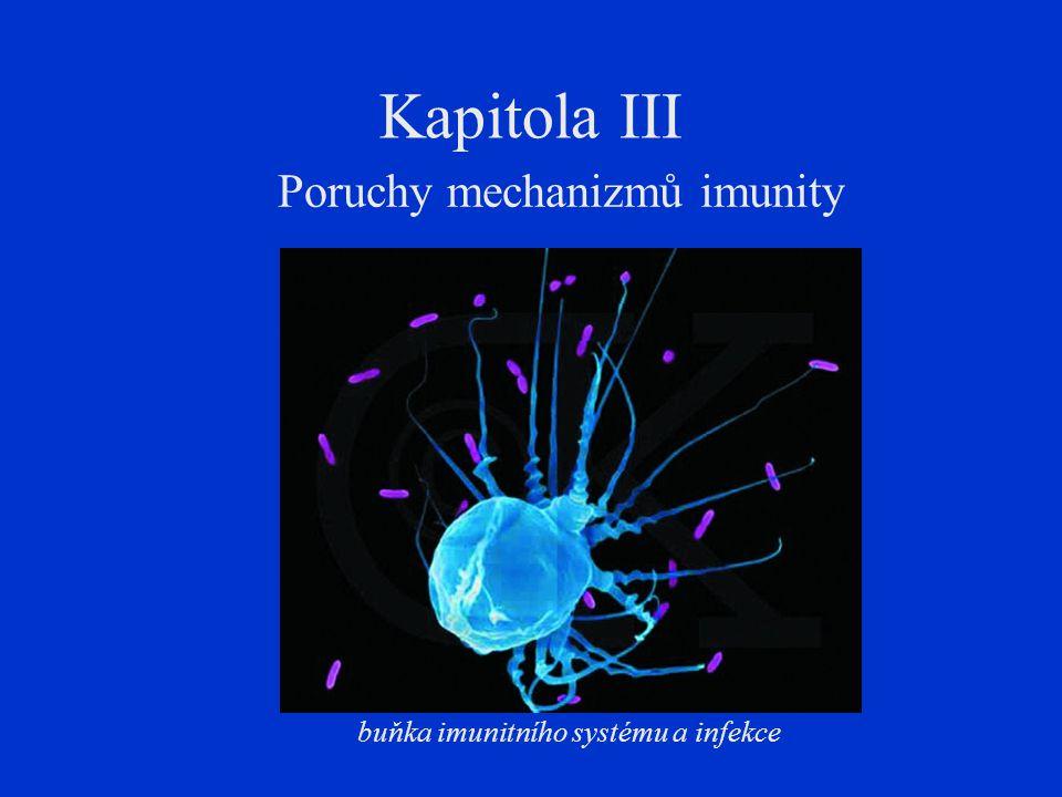 Poruchy mechanizmů imunity
