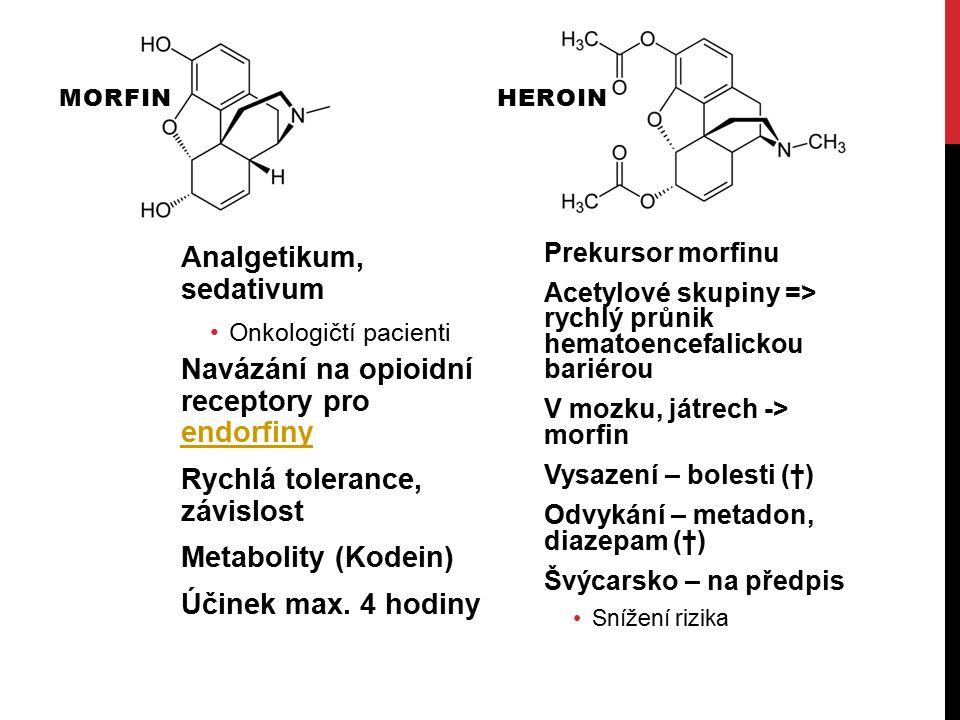 Analgetikum, sedativum