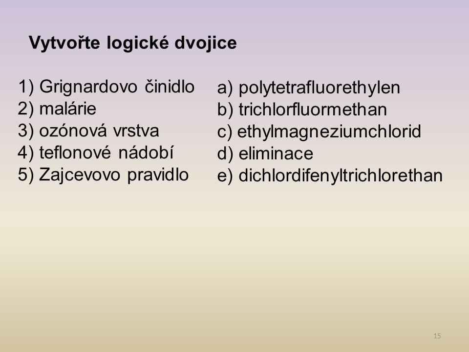 Vytvořte logické dvojice