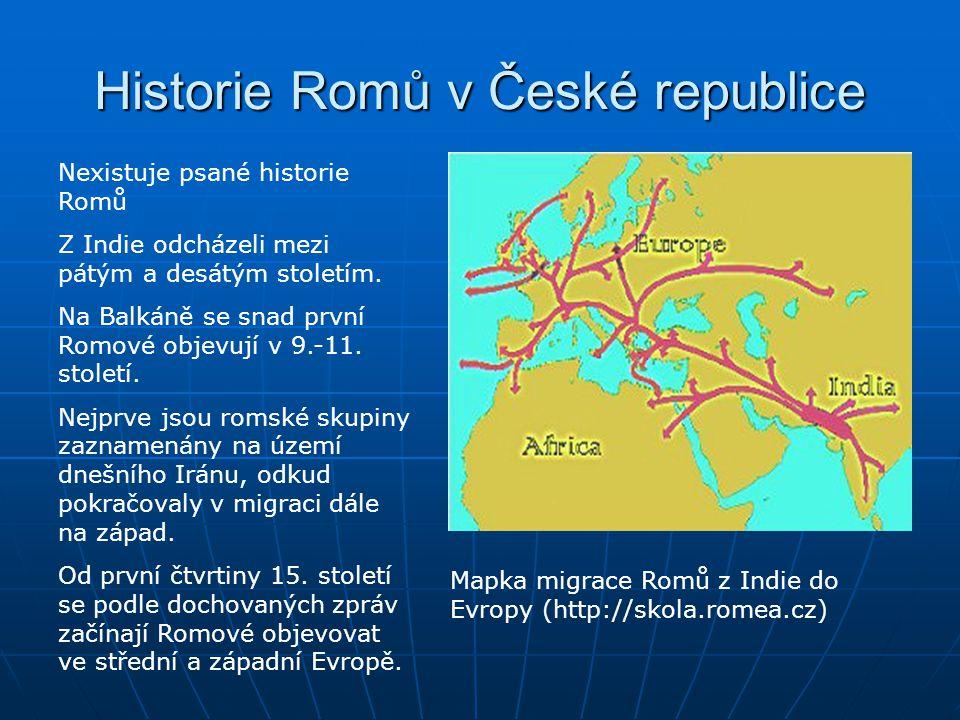 Historie Romů v České republice