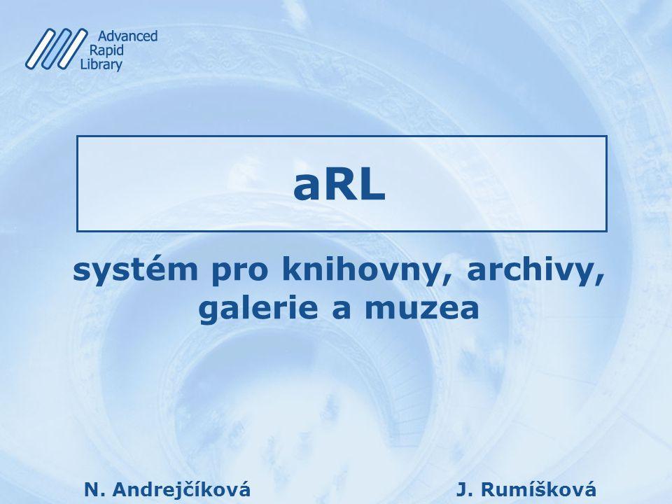 systém pro knihovny, archivy, galerie a muzea