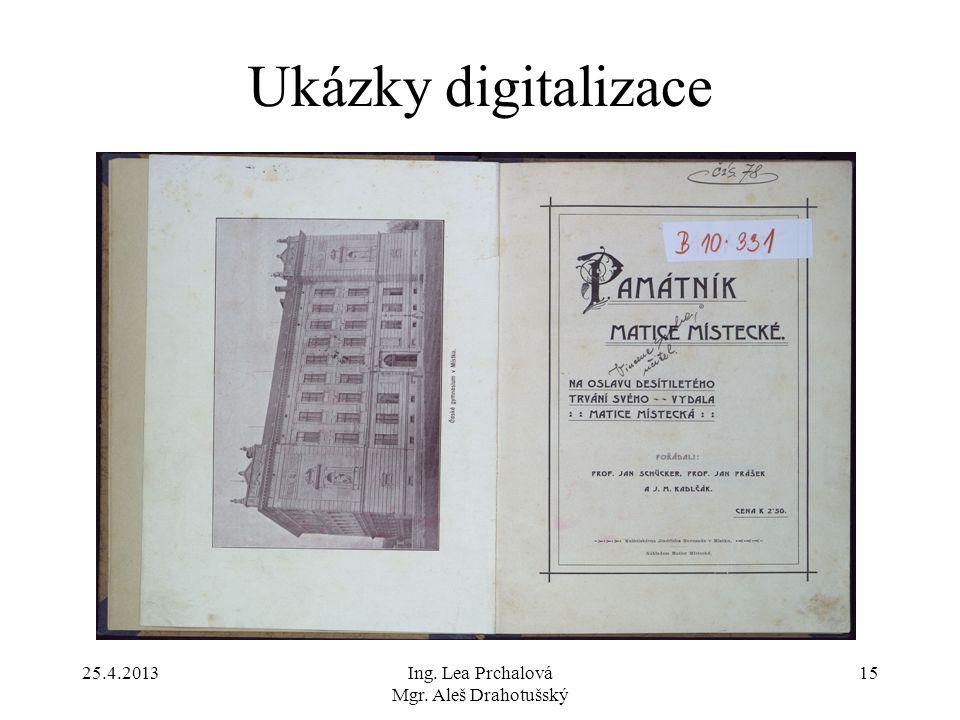 Ing. Lea Prchalová Mgr. Aleš Drahotušský