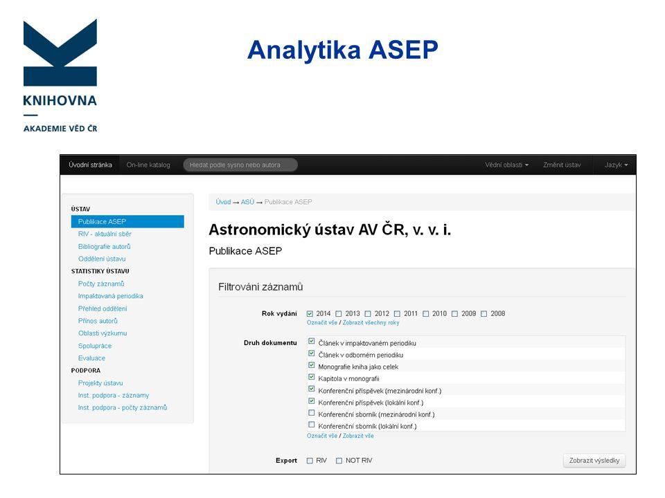 Analytika ASEP