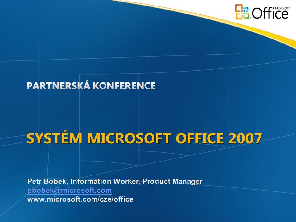 Systém microsoft Office 2007