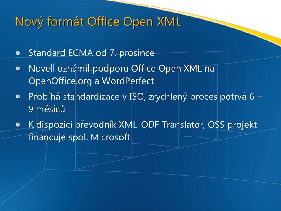 Nový formát Office Open XML