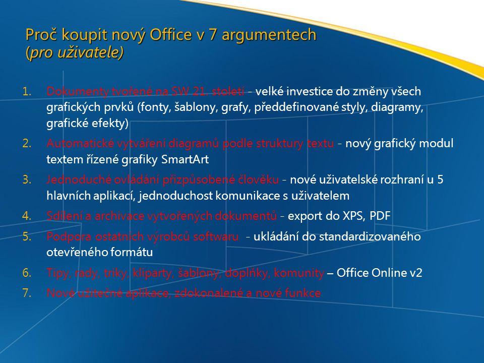 Proč koupit nový Office v 7 argumentech (pro uživatele)