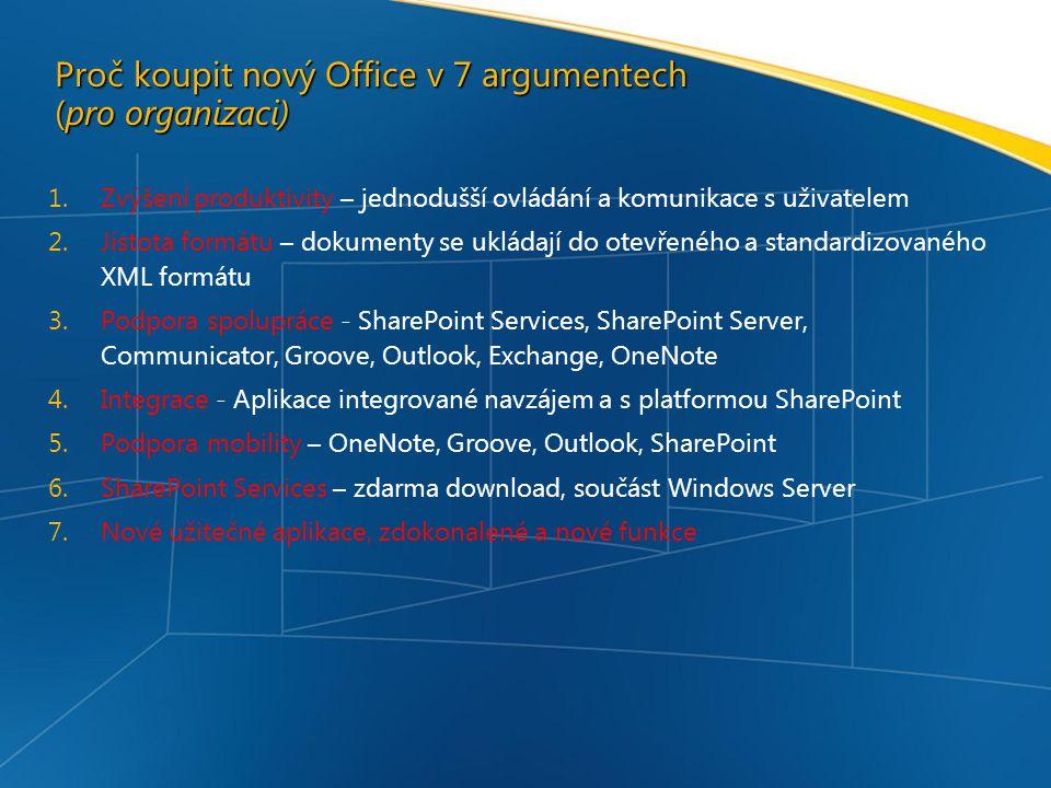 Proč koupit nový Office v 7 argumentech (pro organizaci)
