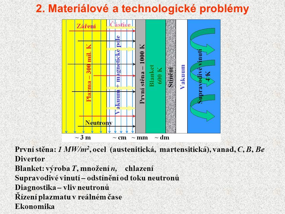 2. Materiálové a technologické problémy
