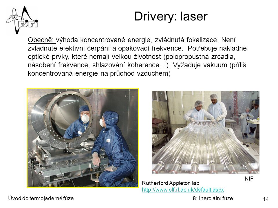 Drivery: laser