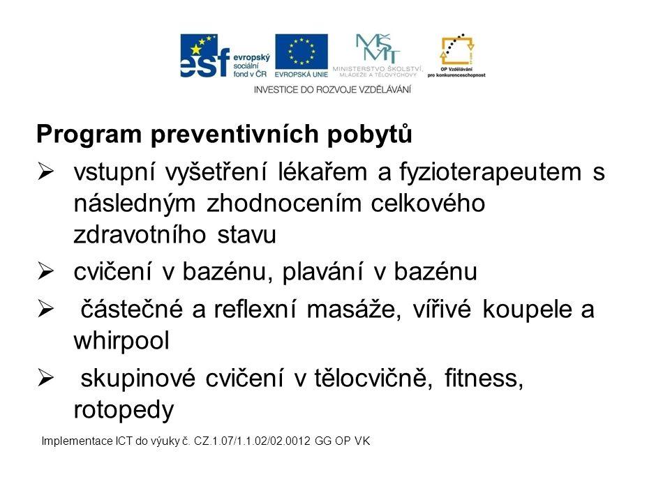 Program preventivních pobytů
