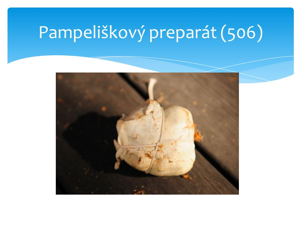 Pampeliškový preparát (506)