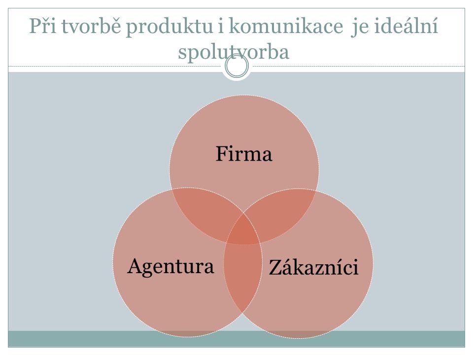 Při tvorbě produktu i komunikace je ideální spolutvorba
