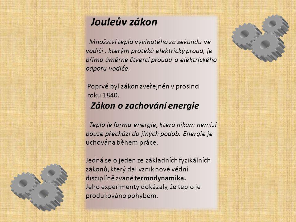 Jouleův zákon