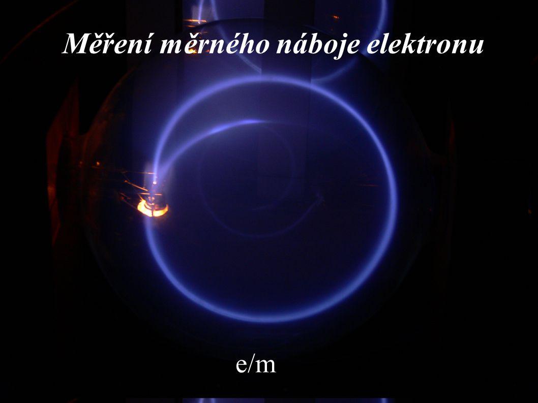 Měření měrného náboje elektronu