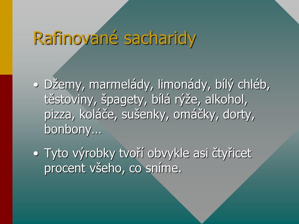 Rafinované sacharidy