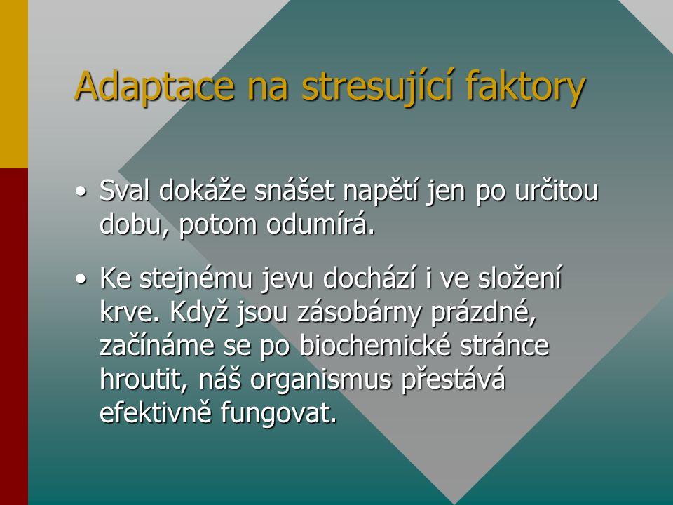 Adaptace na stresující faktory
