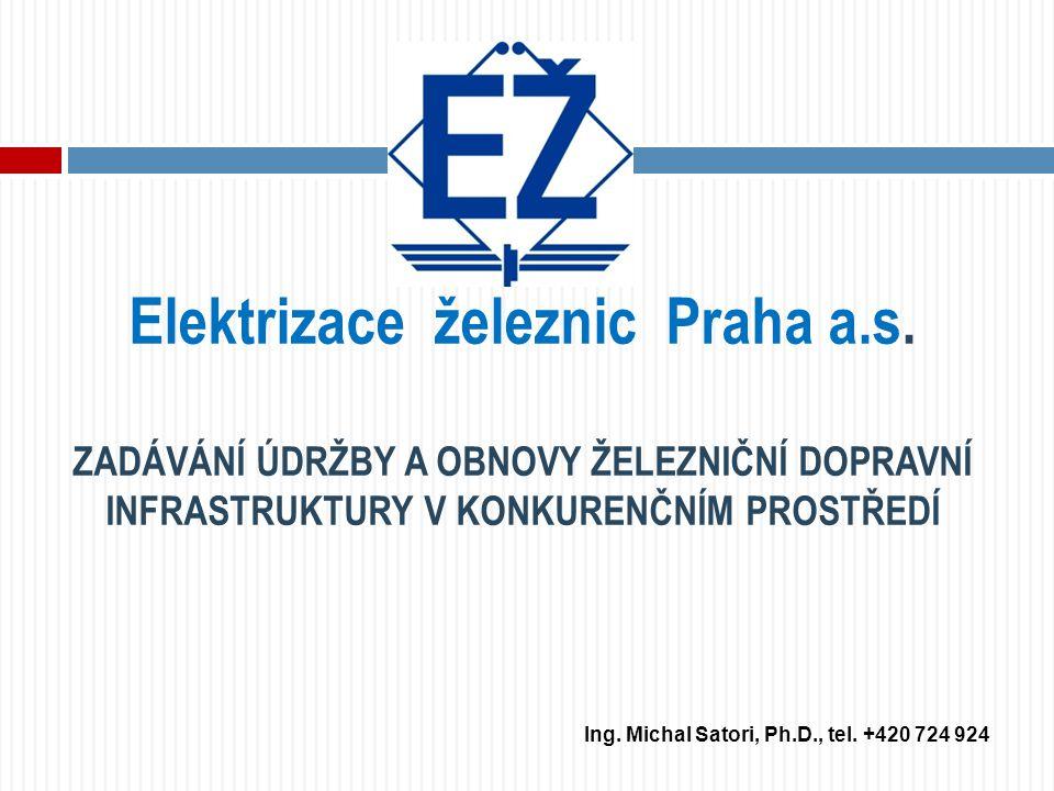 Elektrizace železnic Praha a.s.