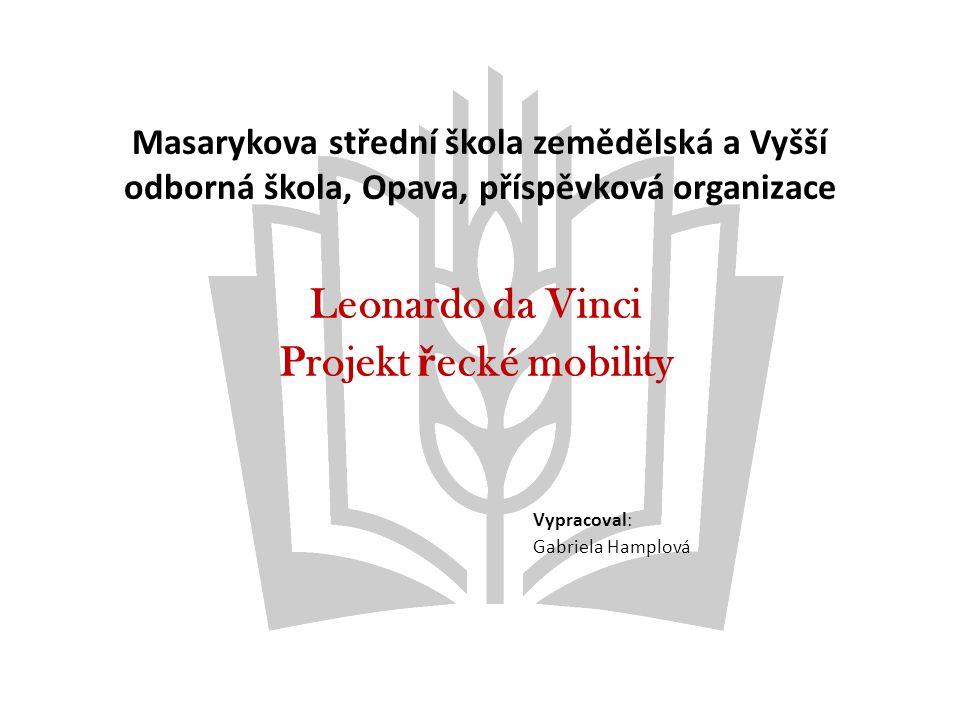 Projekt řecké mobility