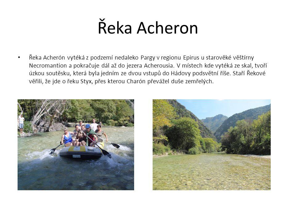 Řeka Acheron