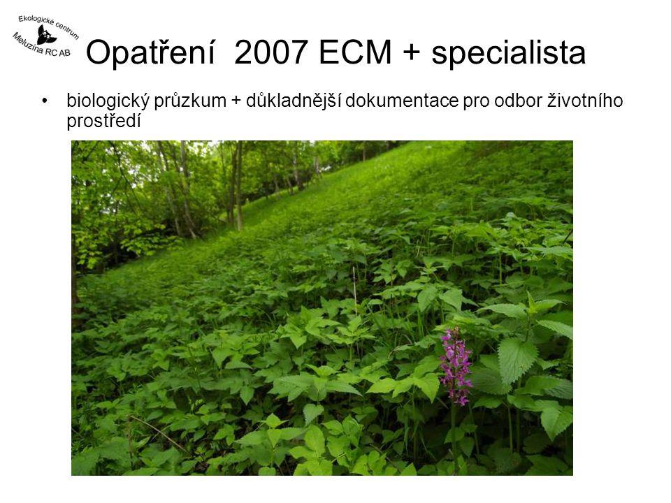 Opatření 2007 ECM + specialista