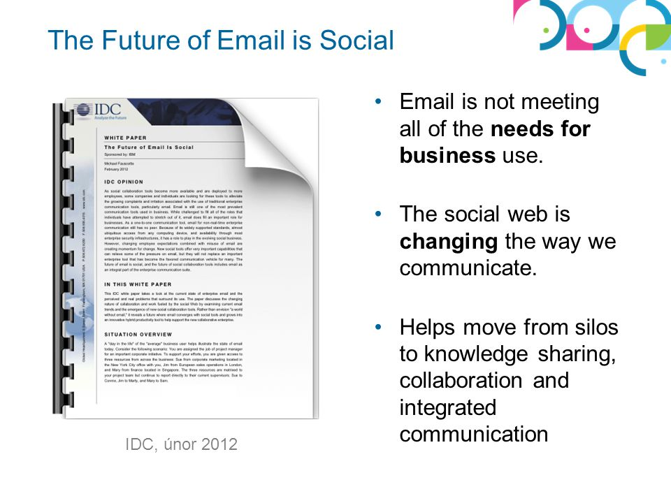 The Future of Email is Social
