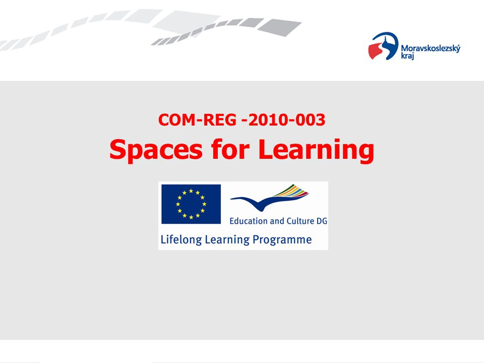COM-REG -2010-003 Spaces for Learning