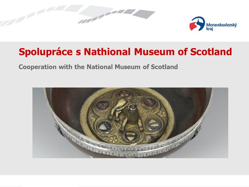 Spolupráce s Nathional Museum of Scotland