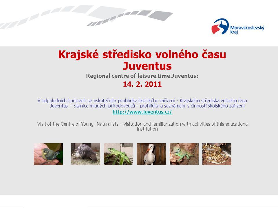 Krajské středisko volného času Juventus