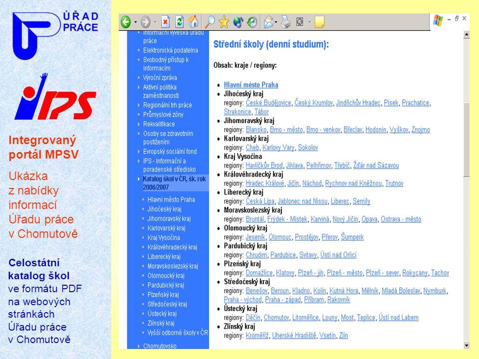 Integrovaný portál MPSV