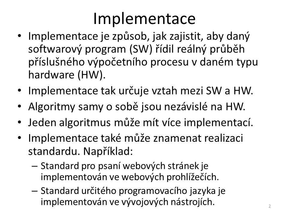 Implementace