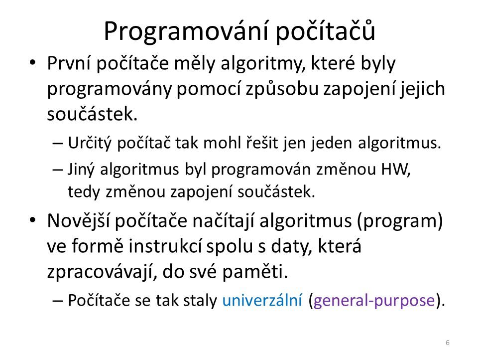 Programování počítačů