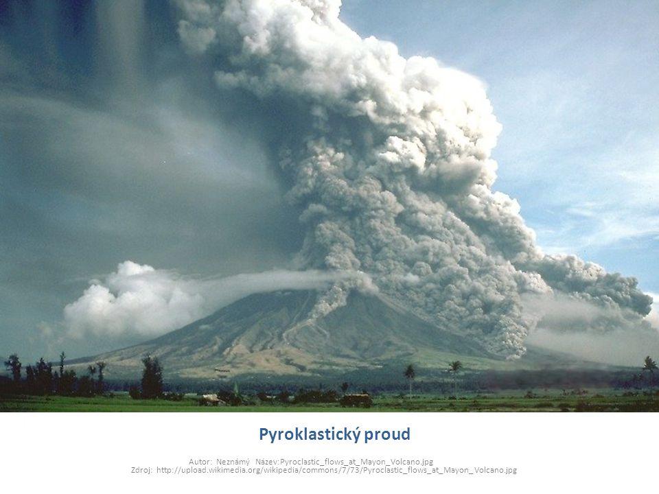 Pyroklastický proud