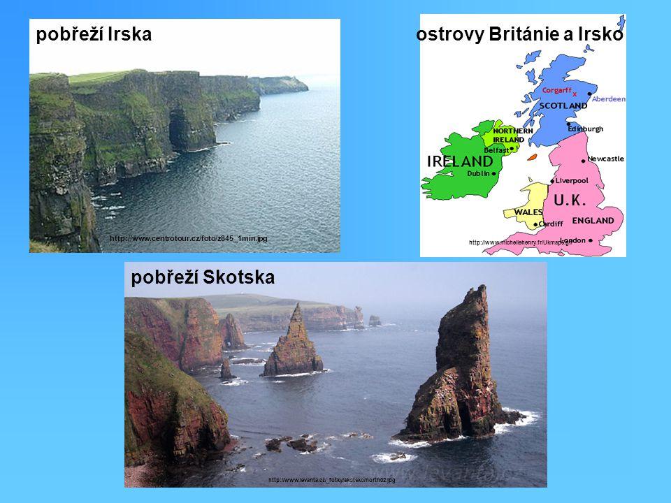ostrovy Británie a Irsko