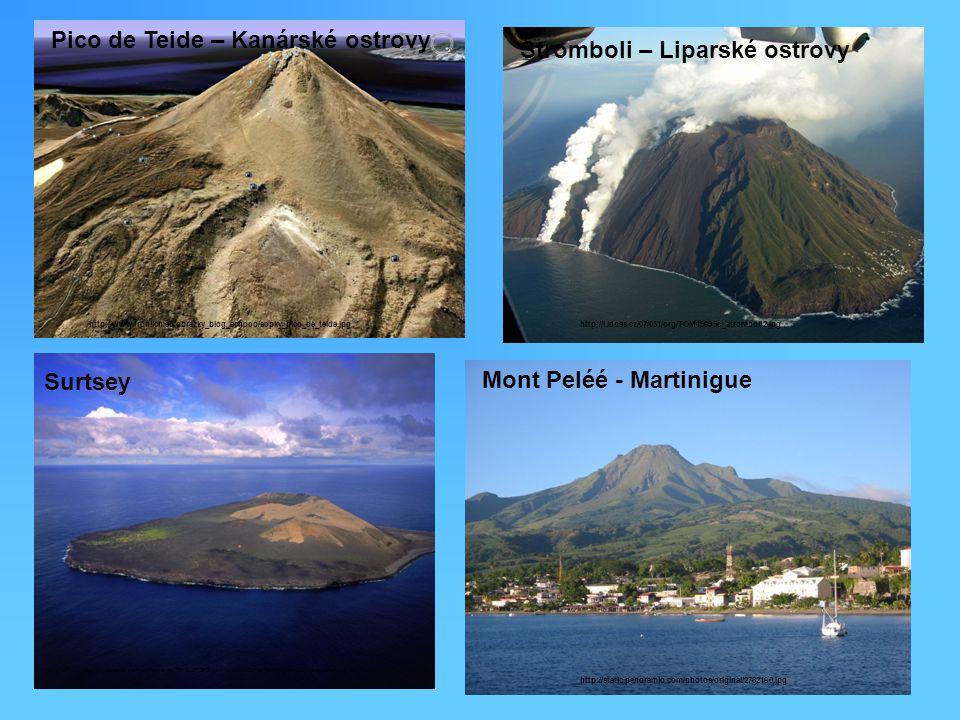 Pico de Teide – Kanárské ostrovy Stromboli – Liparské ostrovy