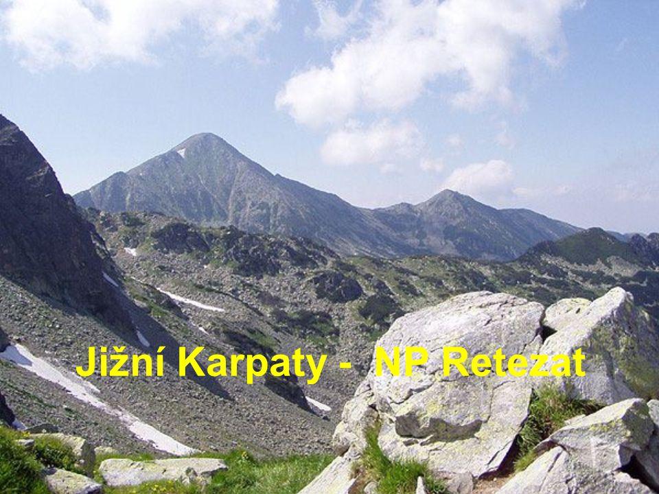 Jižní Karpaty - NP Retezat