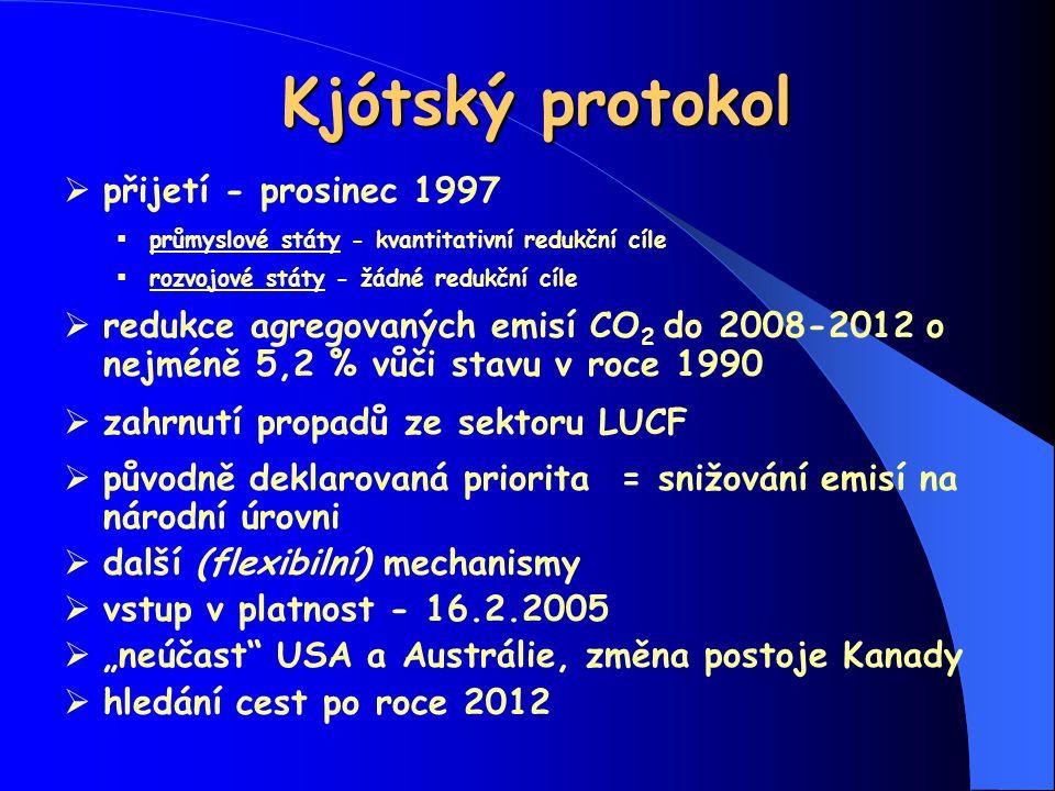 Kjótský protokol přijetí - prosinec 1997