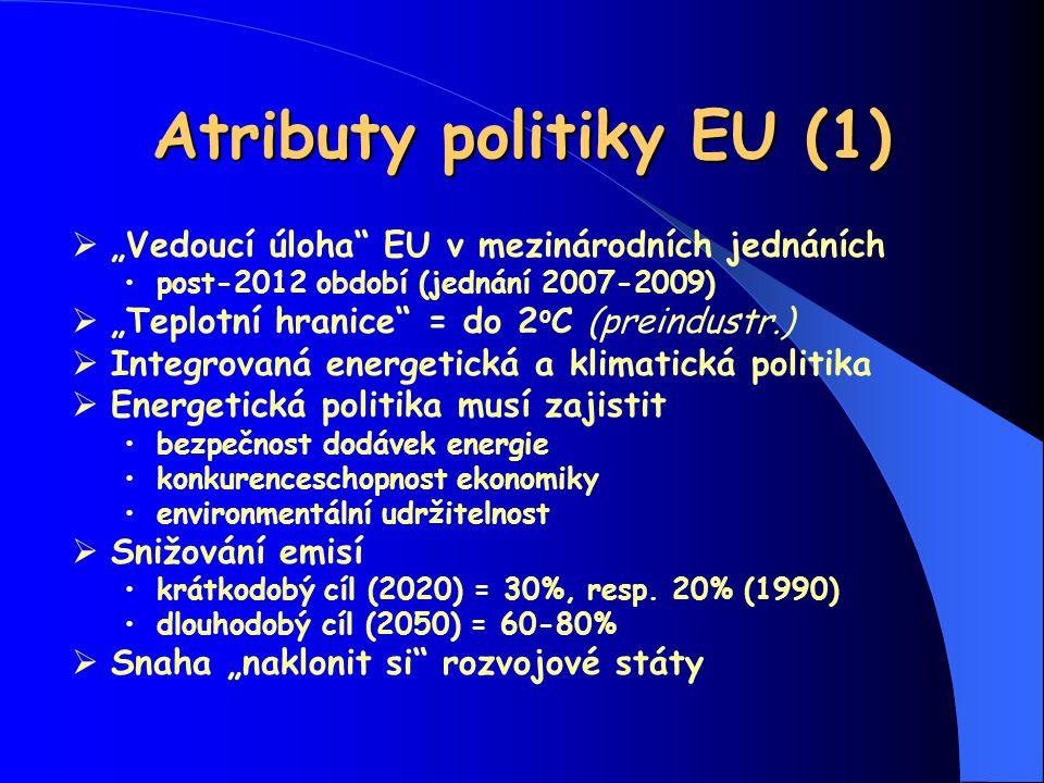Atributy politiky EU (1)