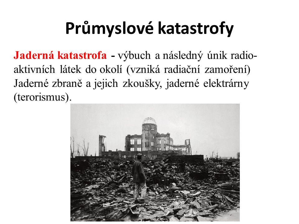 Průmyslové katastrofy