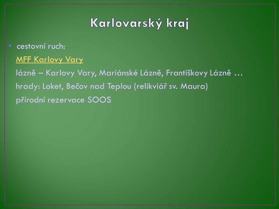 Karlovarský kraj cestovní ruch: MFF Karlovy Vary