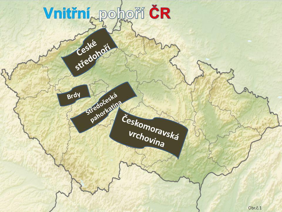 Středočeská pahorkatina Českomoravská vrchovina