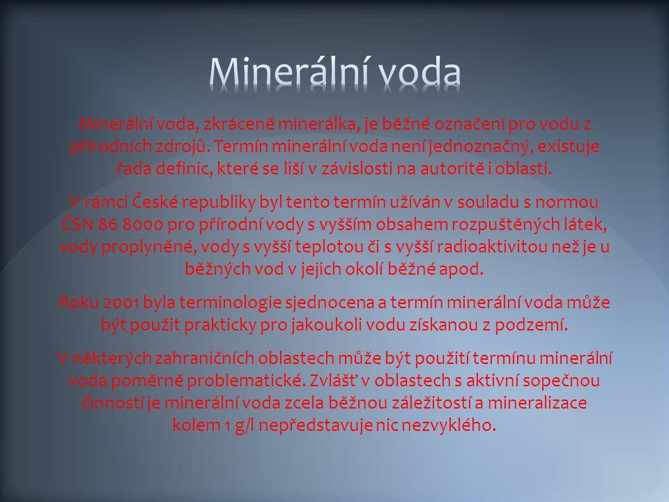 Minerální voda